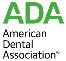 Image of ADA logo, a membership of our dentist in Prescott Az Dr Aaron