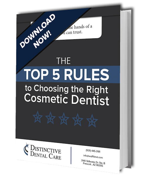 Preview image of your free cosmetic ebook from the experts in Prescott family dentistry