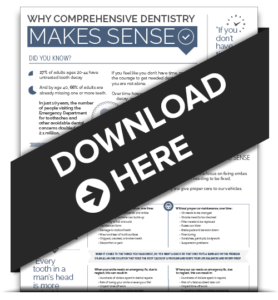 Download our free Comprehensive Dentistry infographic