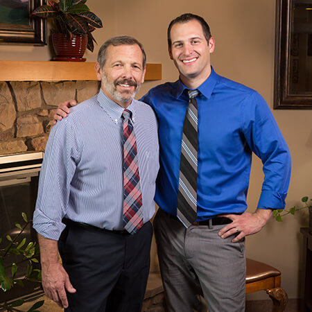 Drs Paul and Aaron Wulff at Distinctive Dental Care